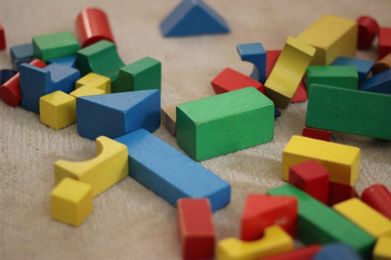 積み木画像